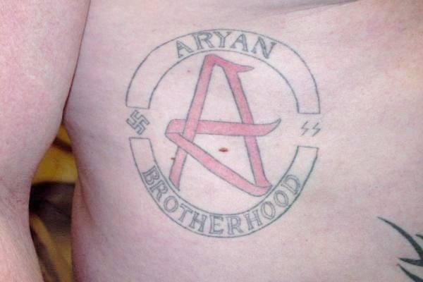 aryan brotherhood tattoo