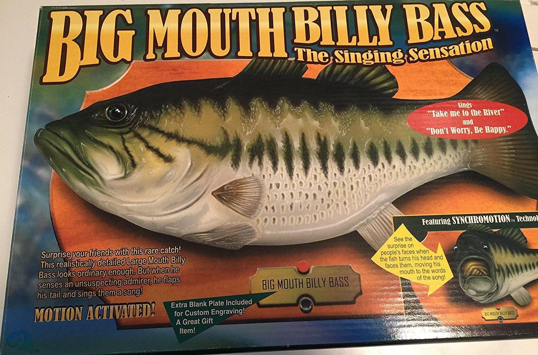 Big Mouth Billy Bass talking fish