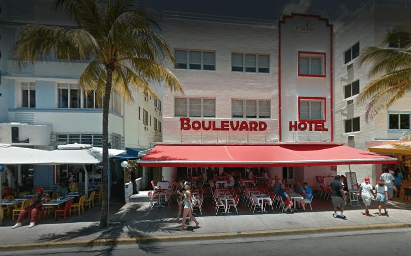 Boulevard Hotel Miami exterior