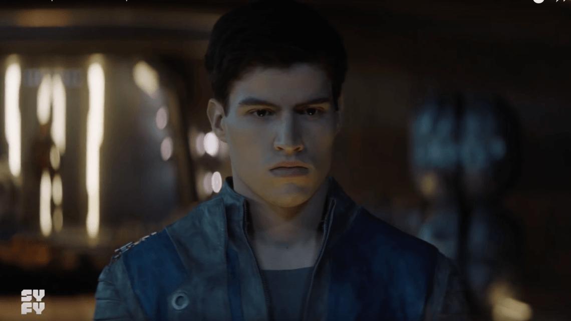 Cameron Cuff in Krypton
