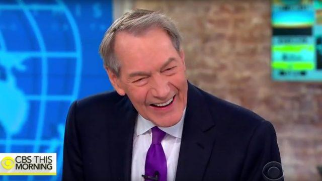 Charlie Rose on CBS This Morning.