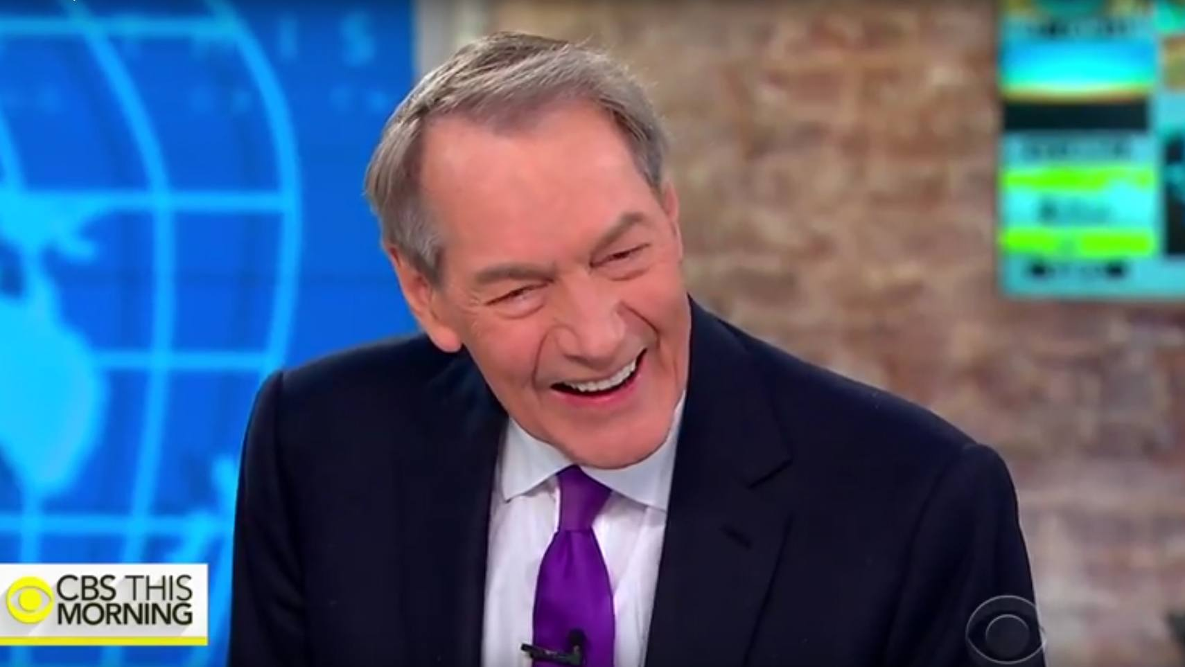 Charlie Rose on CBS This Morning