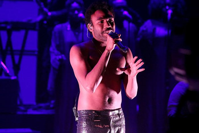 "Childish Gambino performing ""Redbone"""