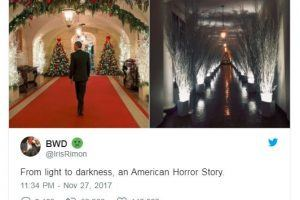 The Most Hilarious Tweets On Trump's Horrific Christmas Decorations