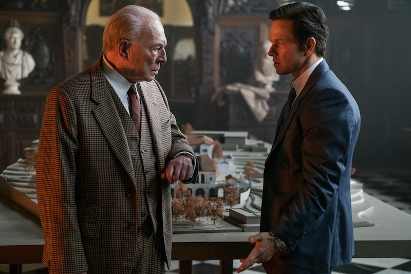 Mark Wahlberg did reshoots with Christopher Plummer for his scenes in All The Money In The World