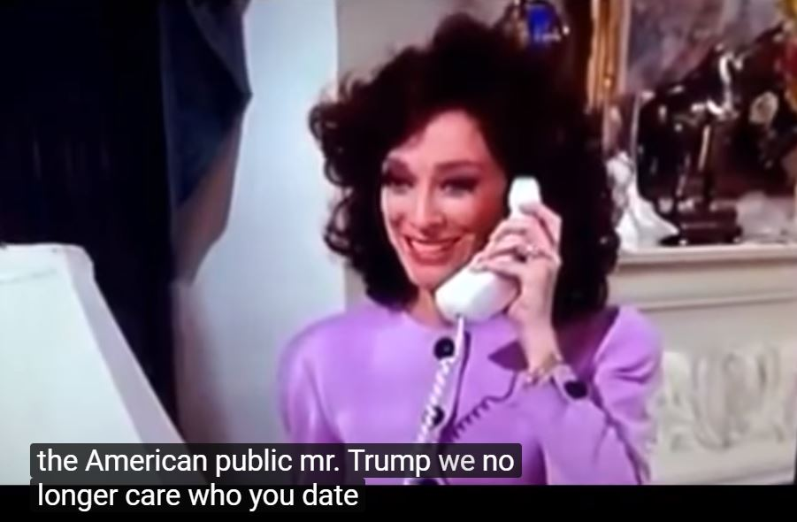 Julia on the phone in Designing Women