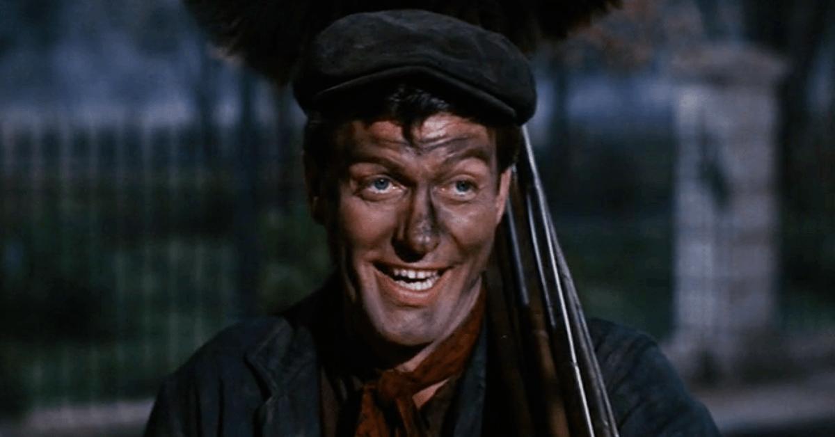 Dick Van Dyke as Bert in Mary Poppins