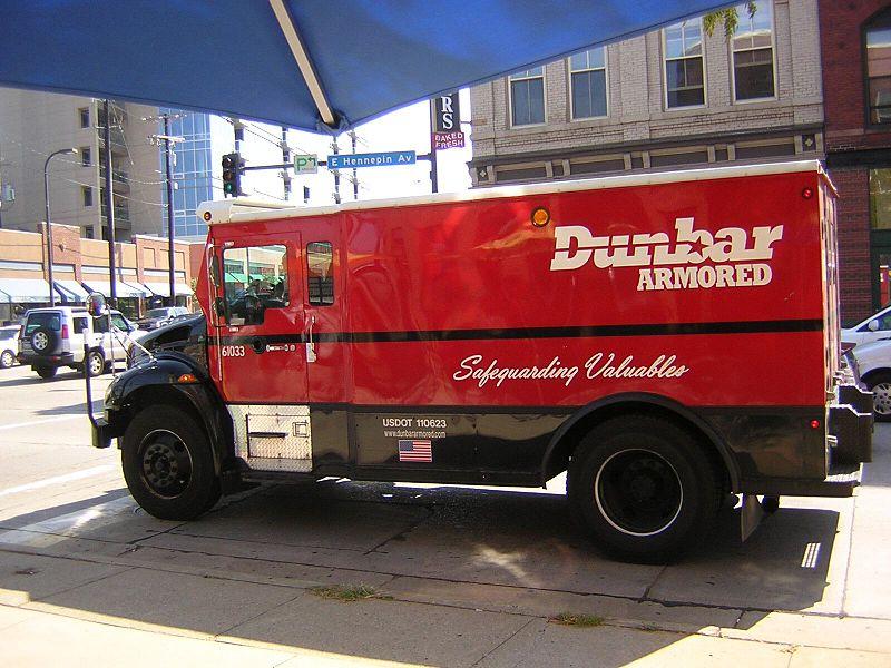 Dunbar Bank Armored Car