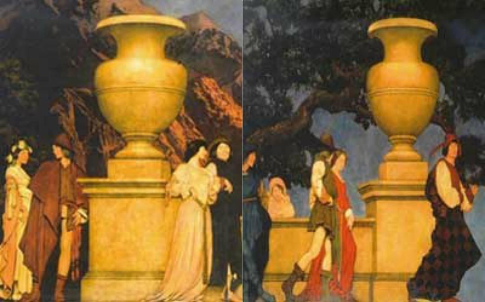 Gertrude Vanderbilt Maxfield Parrish murals-theft