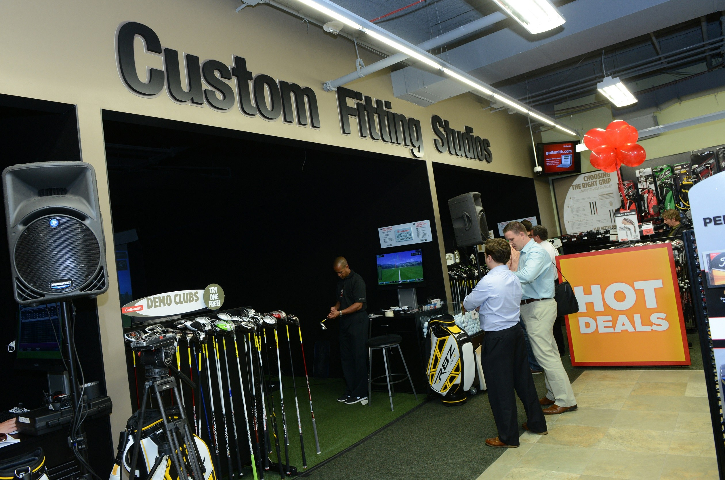 Golfsmith International Grand Opening NYC