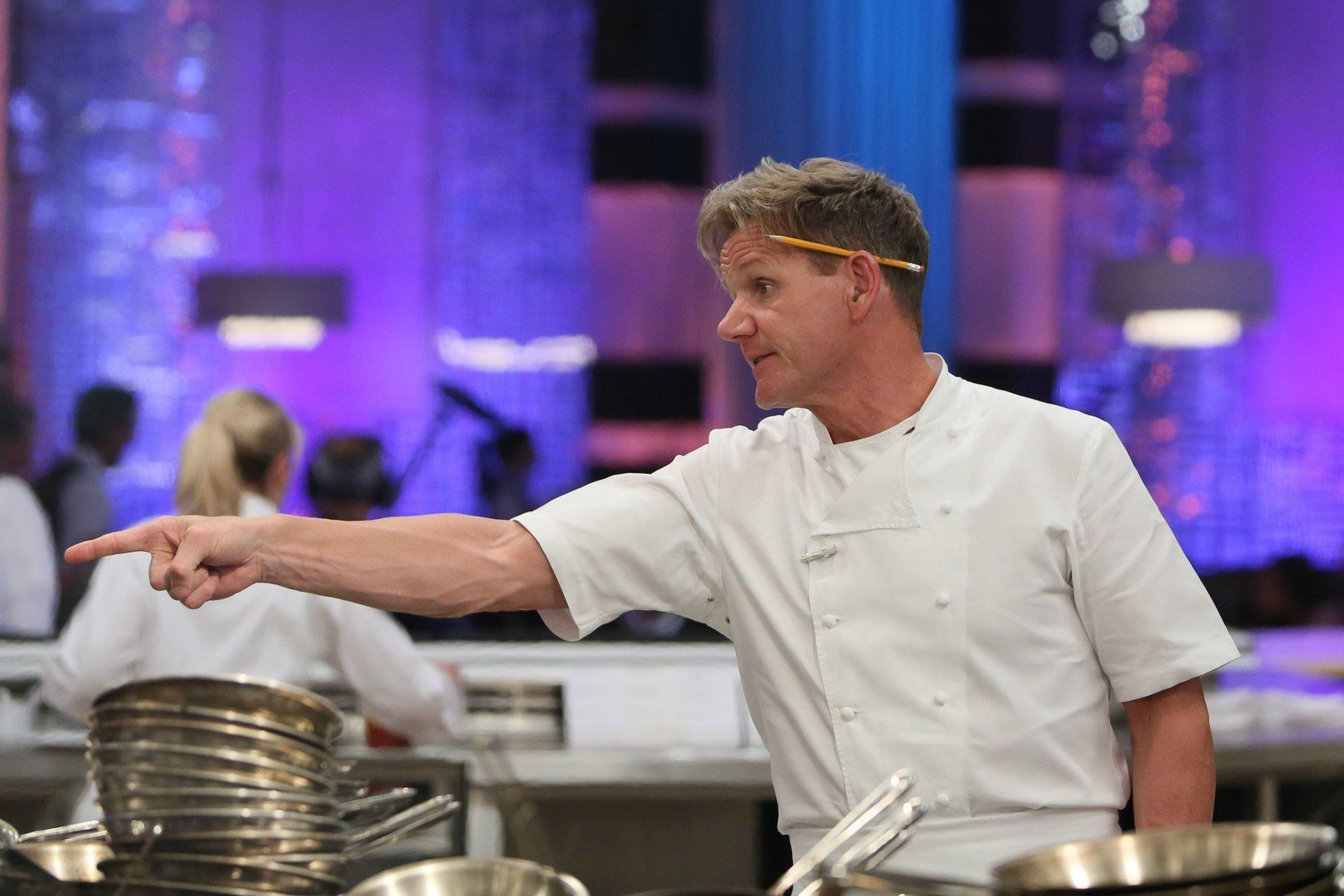 Gordon Ramsay on Hell's Kitchen