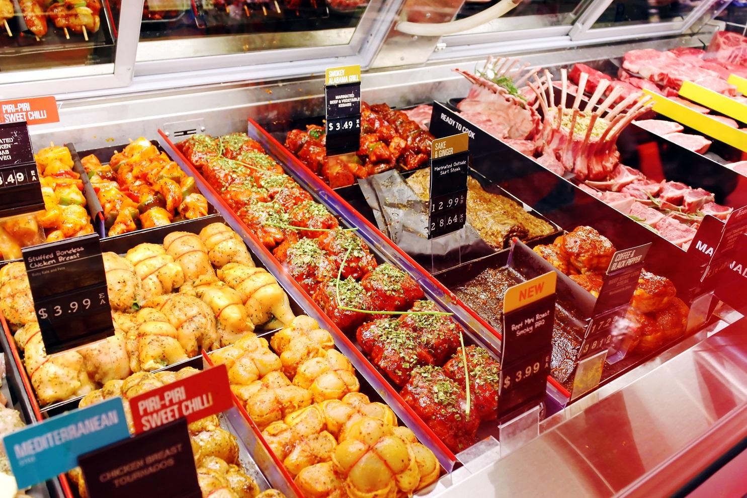 Grocery store prepared food