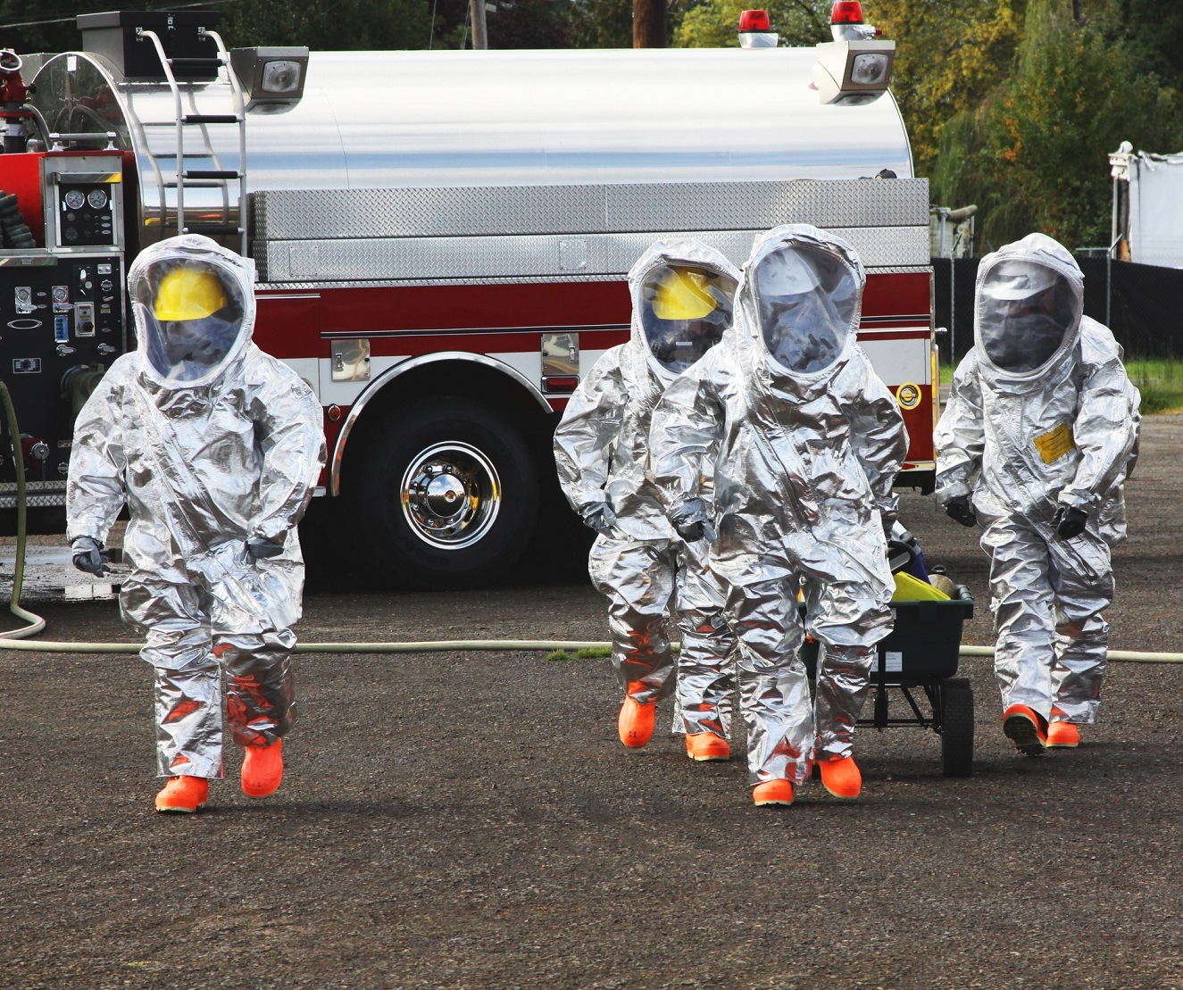 HAZMAT Team Members The Right Stuff