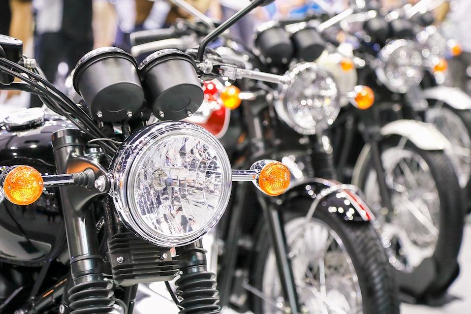 Motorcycle headlight