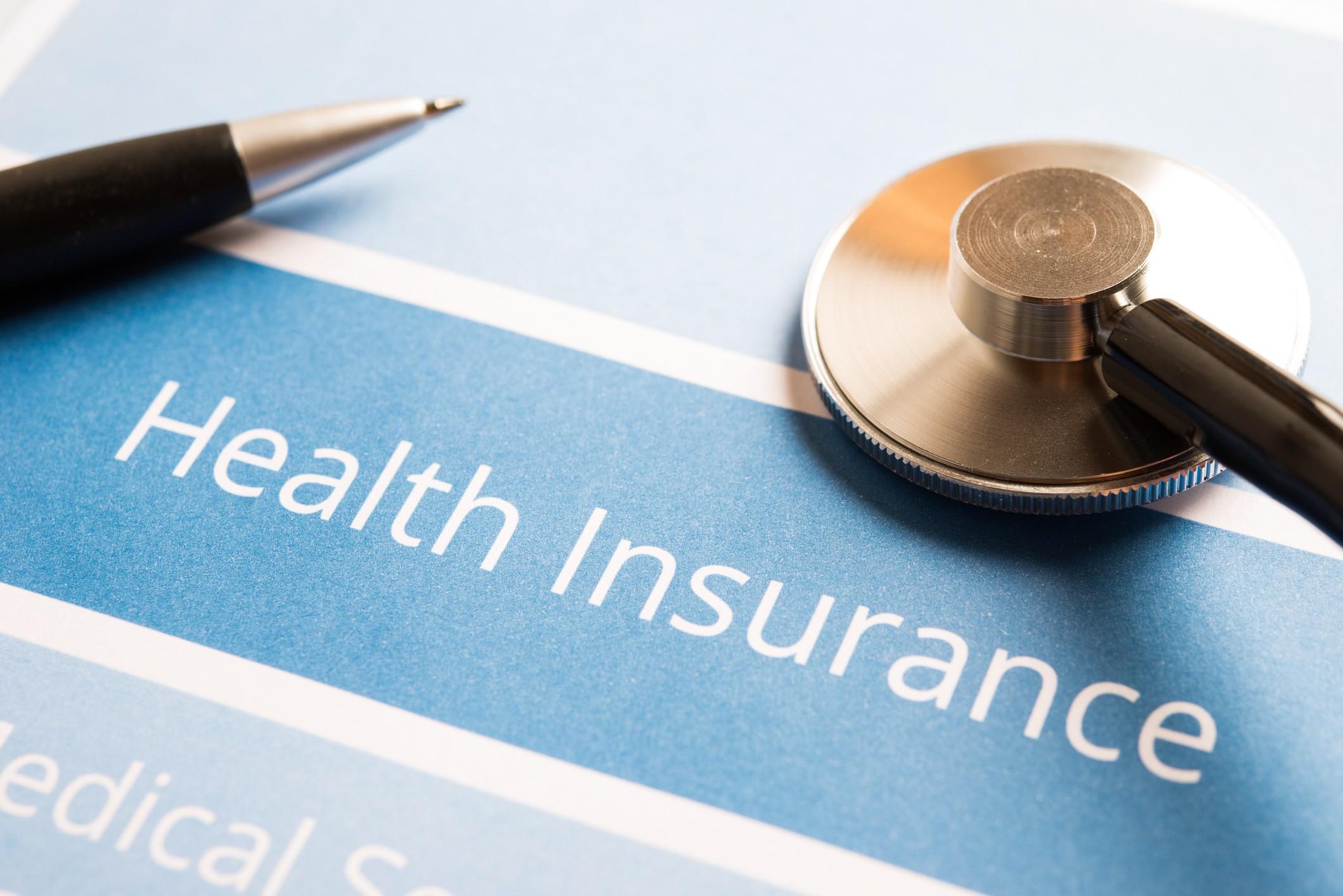 Health insurance document
