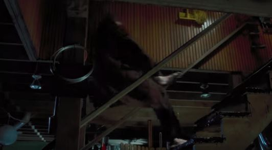 harry falling down the stairs in home alone