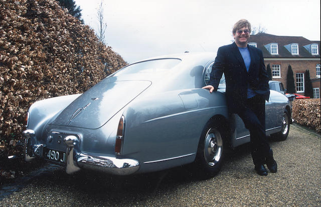 Elton John and his 1959 Bentley Continental S1