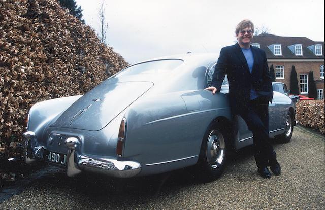 Elton John and his 1959 Bentley Continental S1