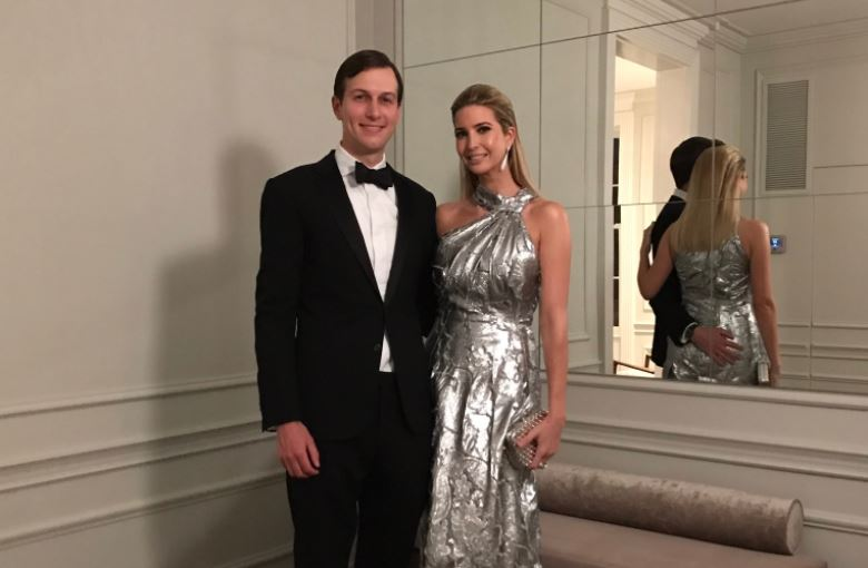 Ivanka Trump and husband Jared Kushner