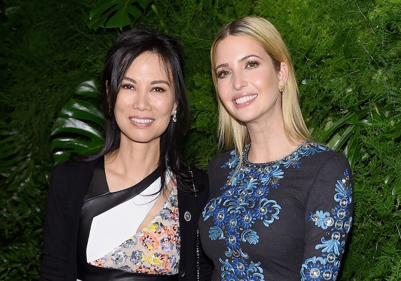 Wendi Deng and Ivanka Trump