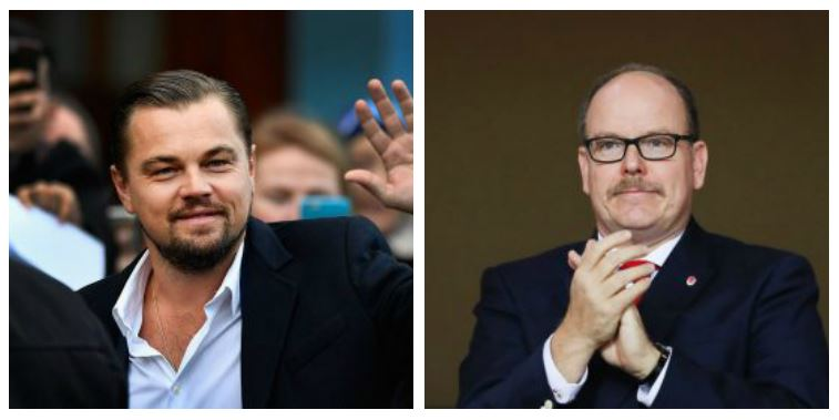 Leonardo DiCaprio and Prince Albert