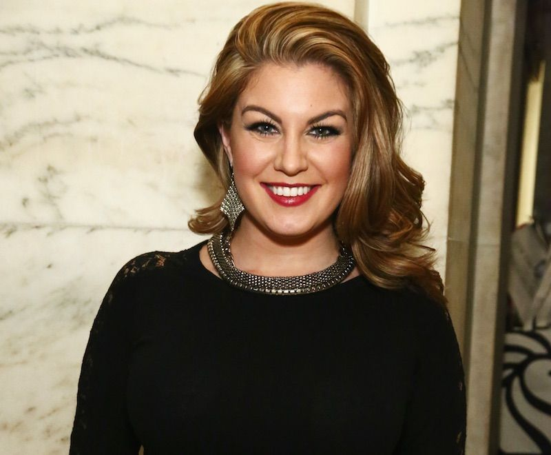 : Mallory Hagan attends Point Honors Gala honors Greg Louganis and Pete Nowalk on April 11, 2016 in New York City.