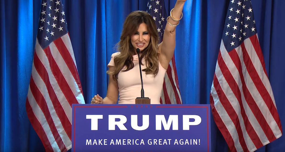 Gina Gershon as Melania Trump