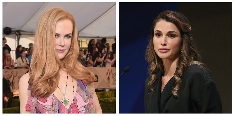 Nicole Kidman and Queen Rania