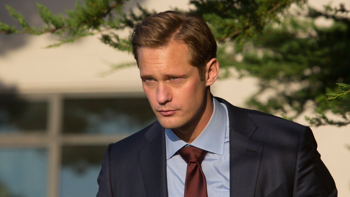 Alexander Skarsgård as Perry White on Big Little Lies