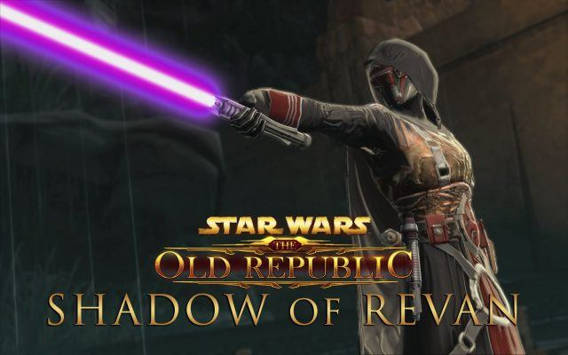 Revan extending his arm outward