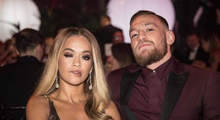 Rita Ora and Conor McGregor