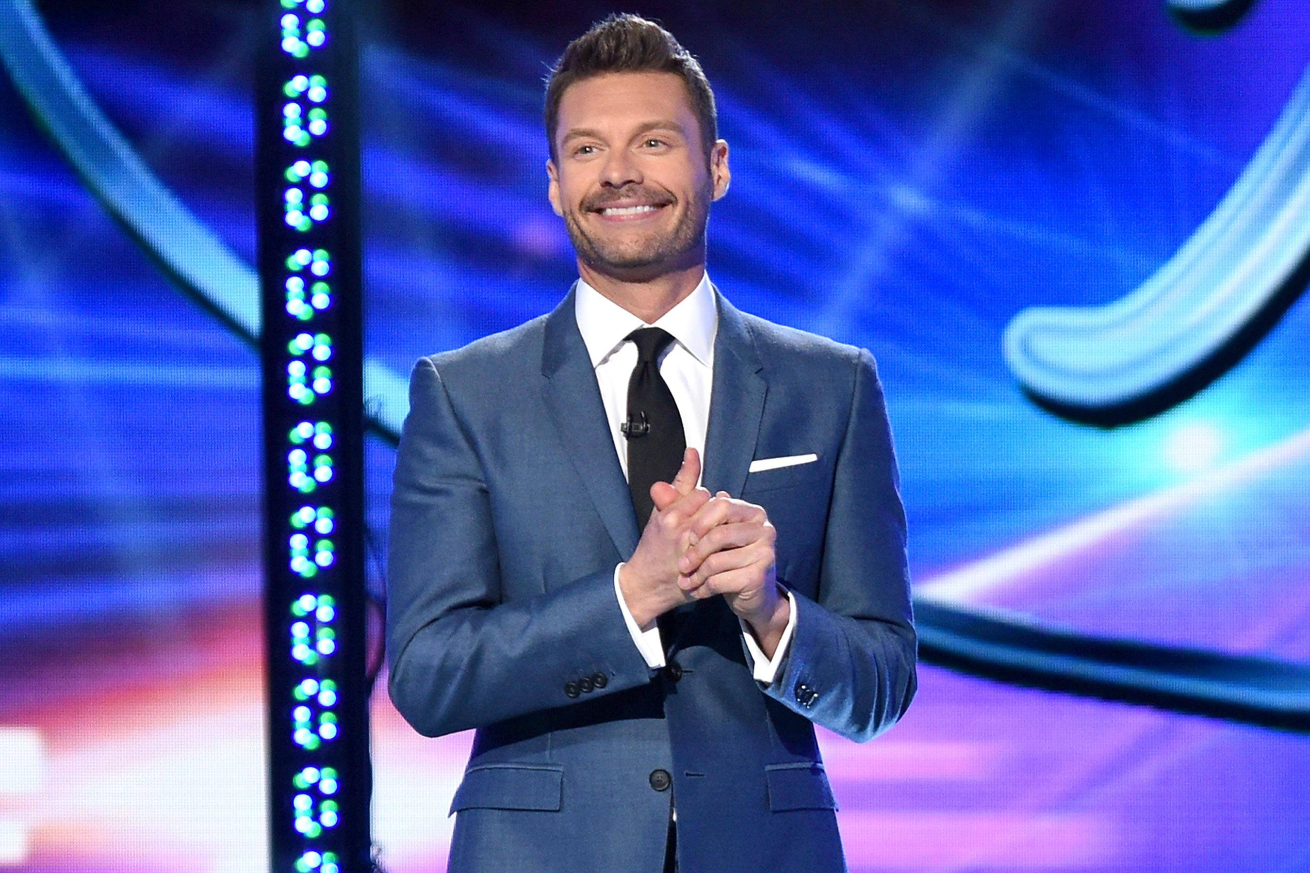 Ryan Seacrest hosting American Idol