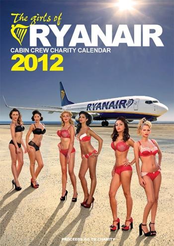 Ryanair charity bikini calendar
