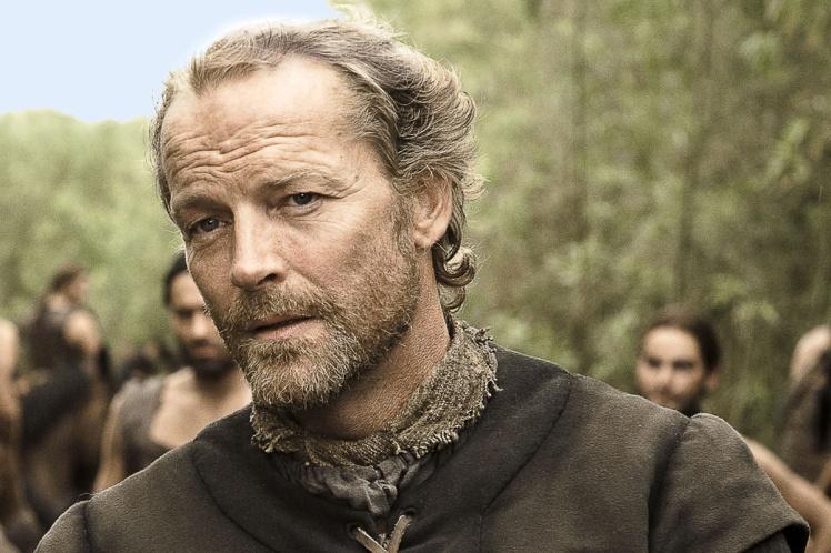 Iain Glen as Ser Jorah Mormont in Game of Thrones