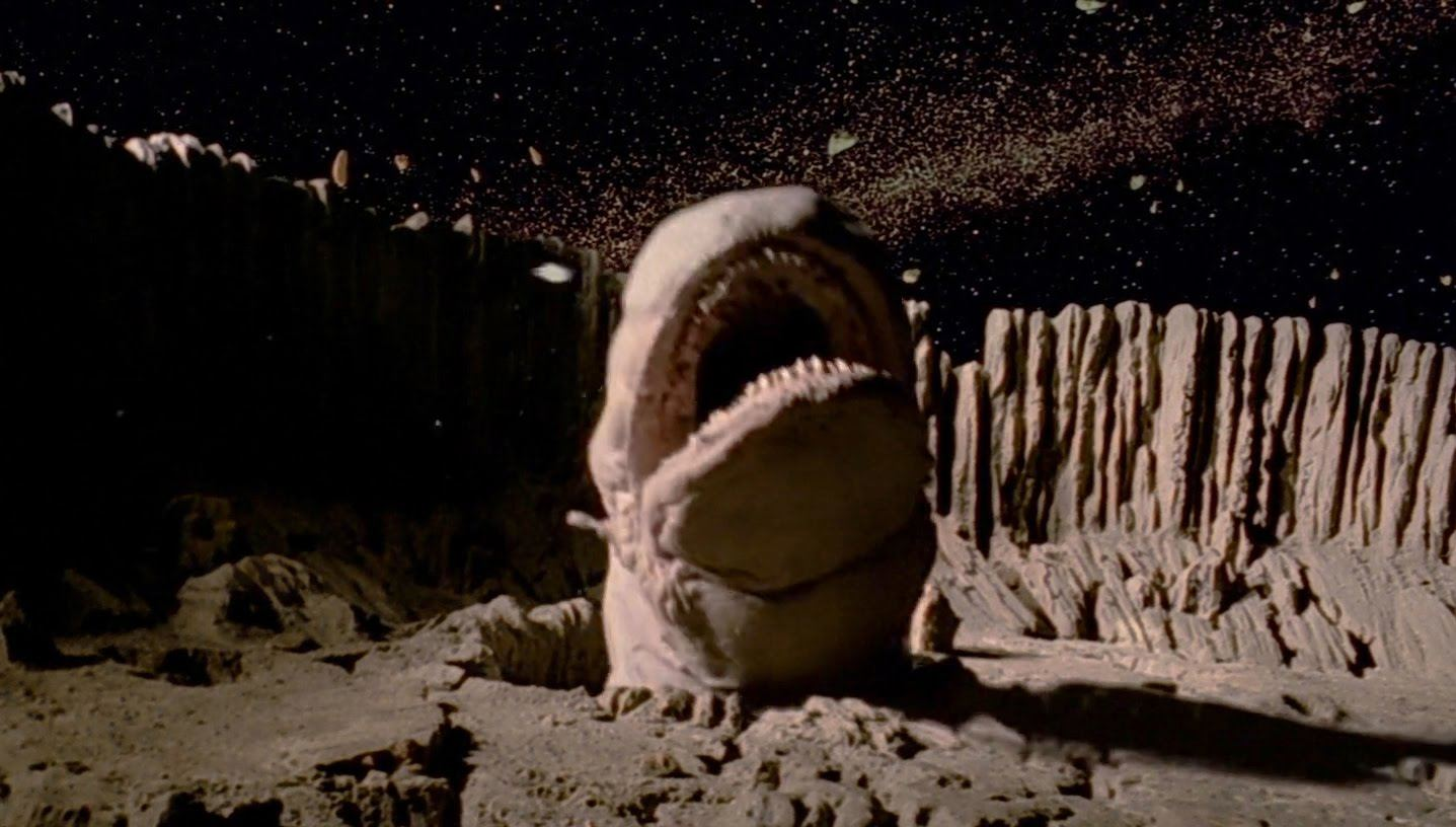 An exogorth in Star Wars: The Empire Strikes Back