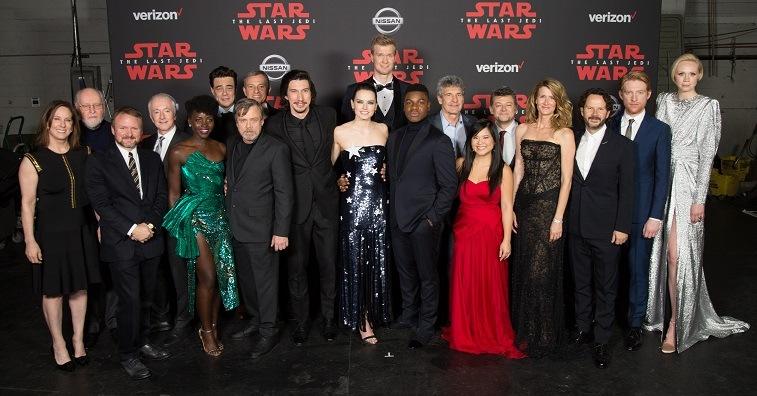 The world premiere of Star Wars: The Last Jedi