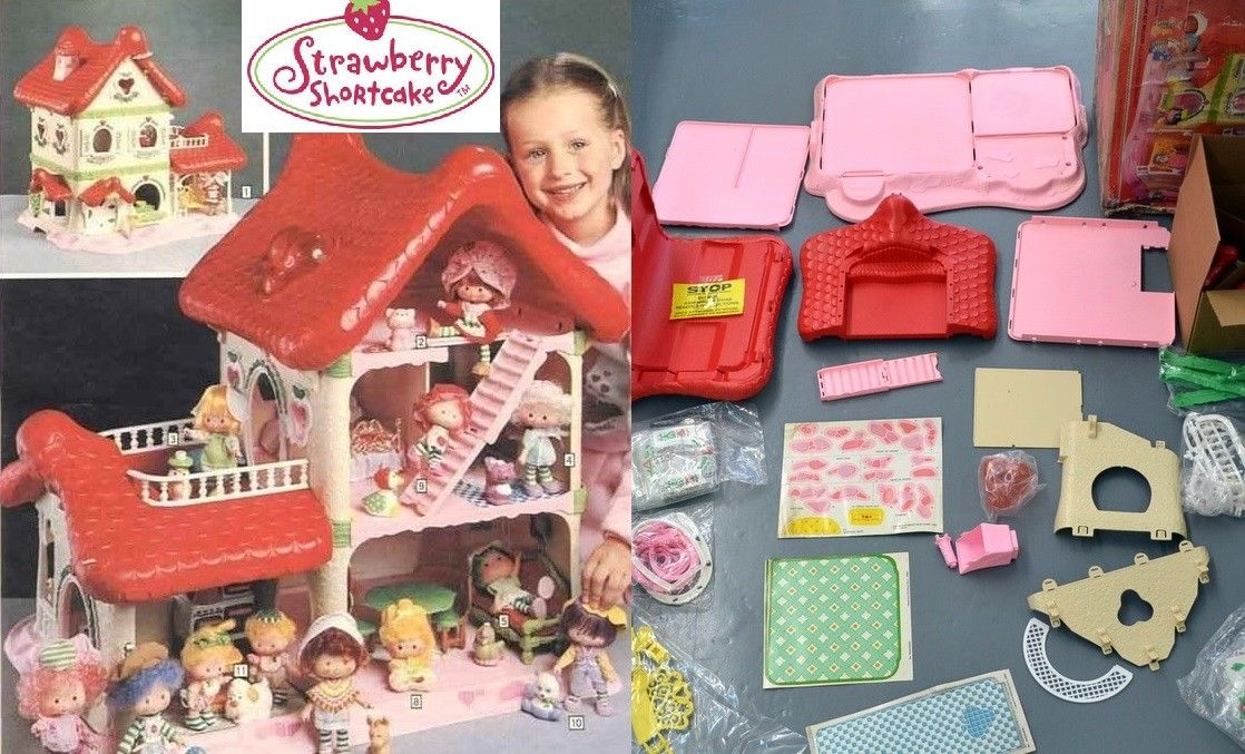 Strawberry Shortcake house
