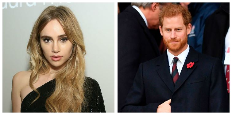 Suki Waterhouse and Prince Harry