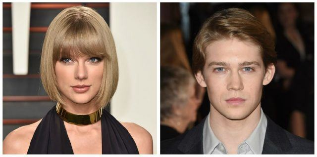 A composite image of Taylor Swift and Joe Alwyn