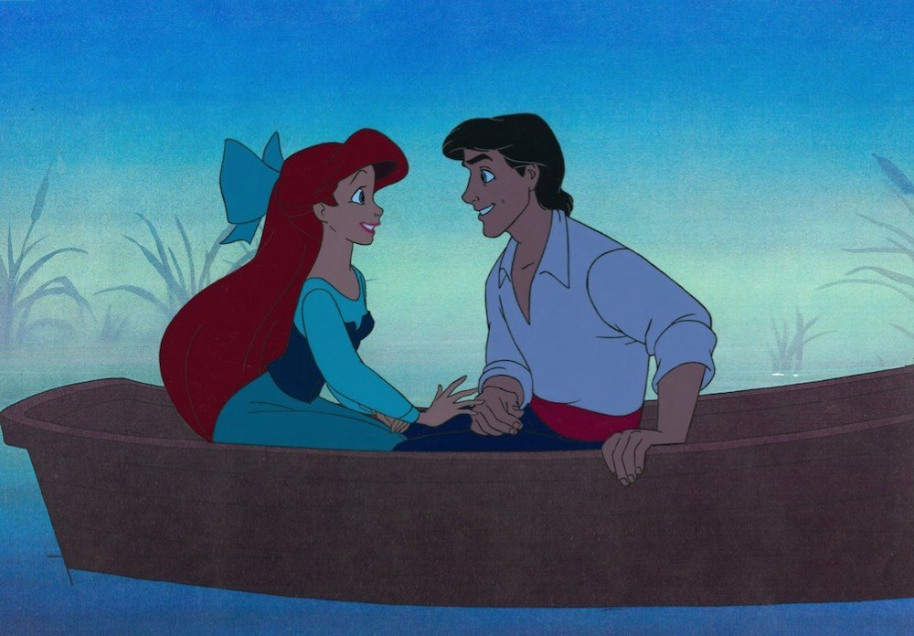 Ariel and Prince Eric in The Little Mermaid