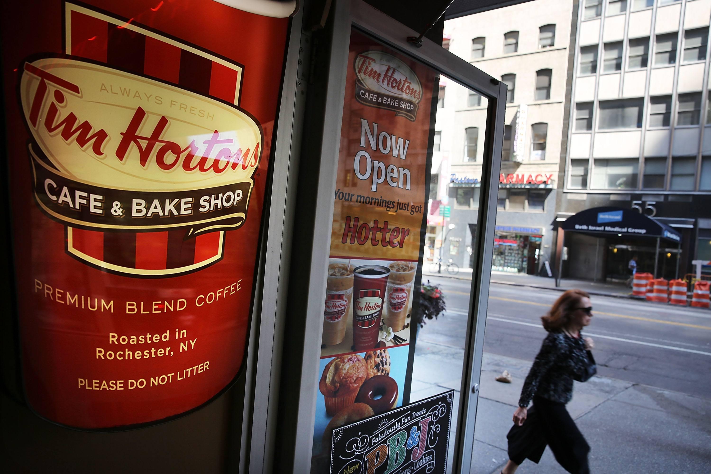 Tim Horton coffee shop