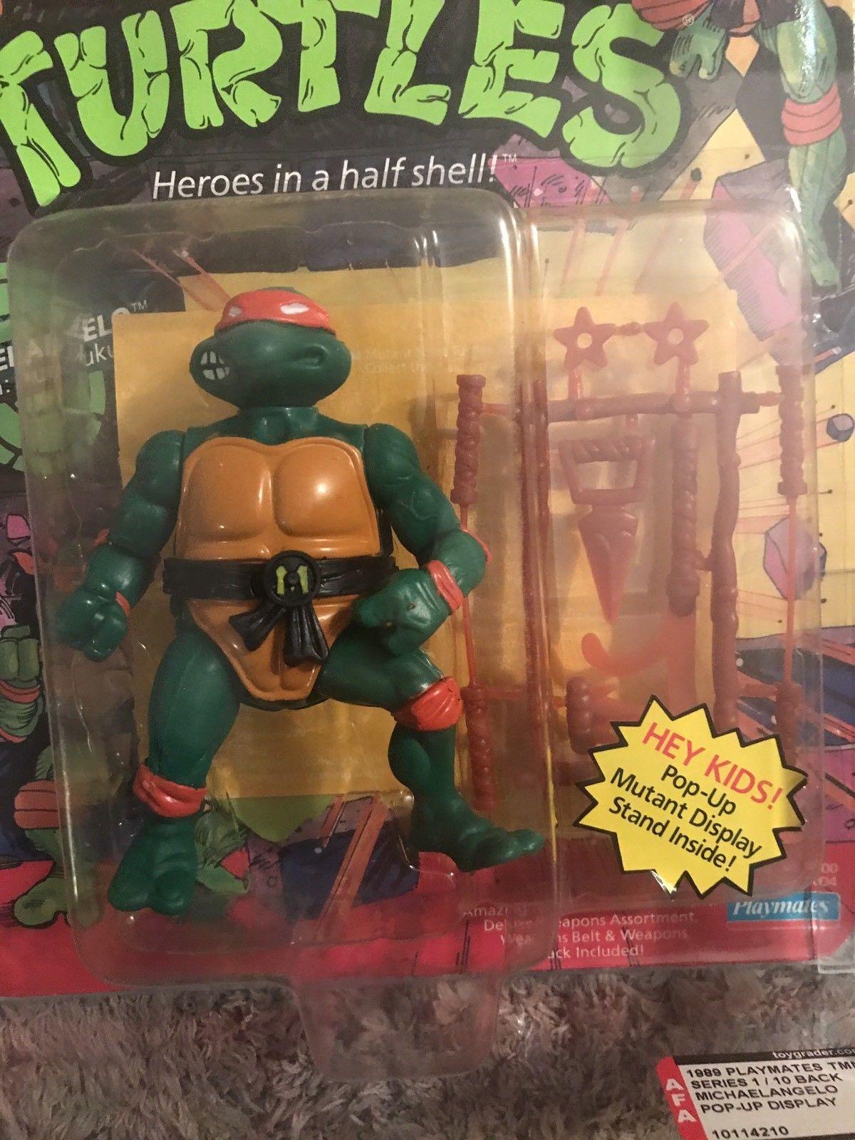 Teenage mutant ninja turtle action figure