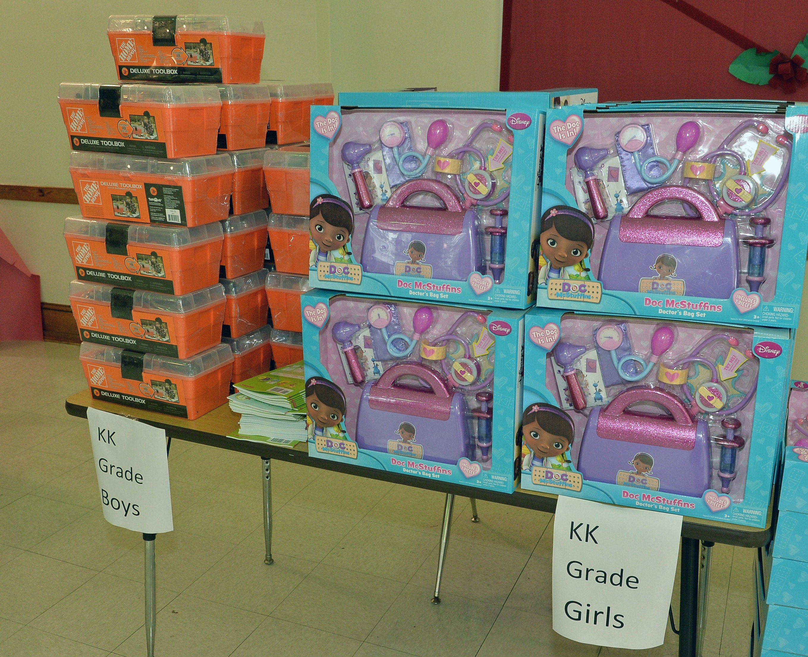 Toys for Tots collections