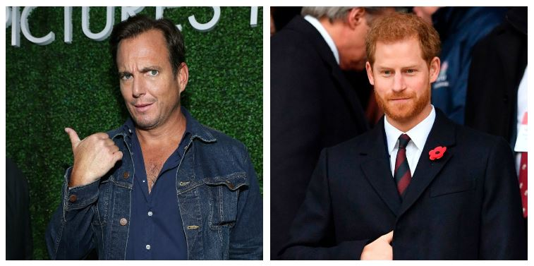 Will Arnett and Prince Harry