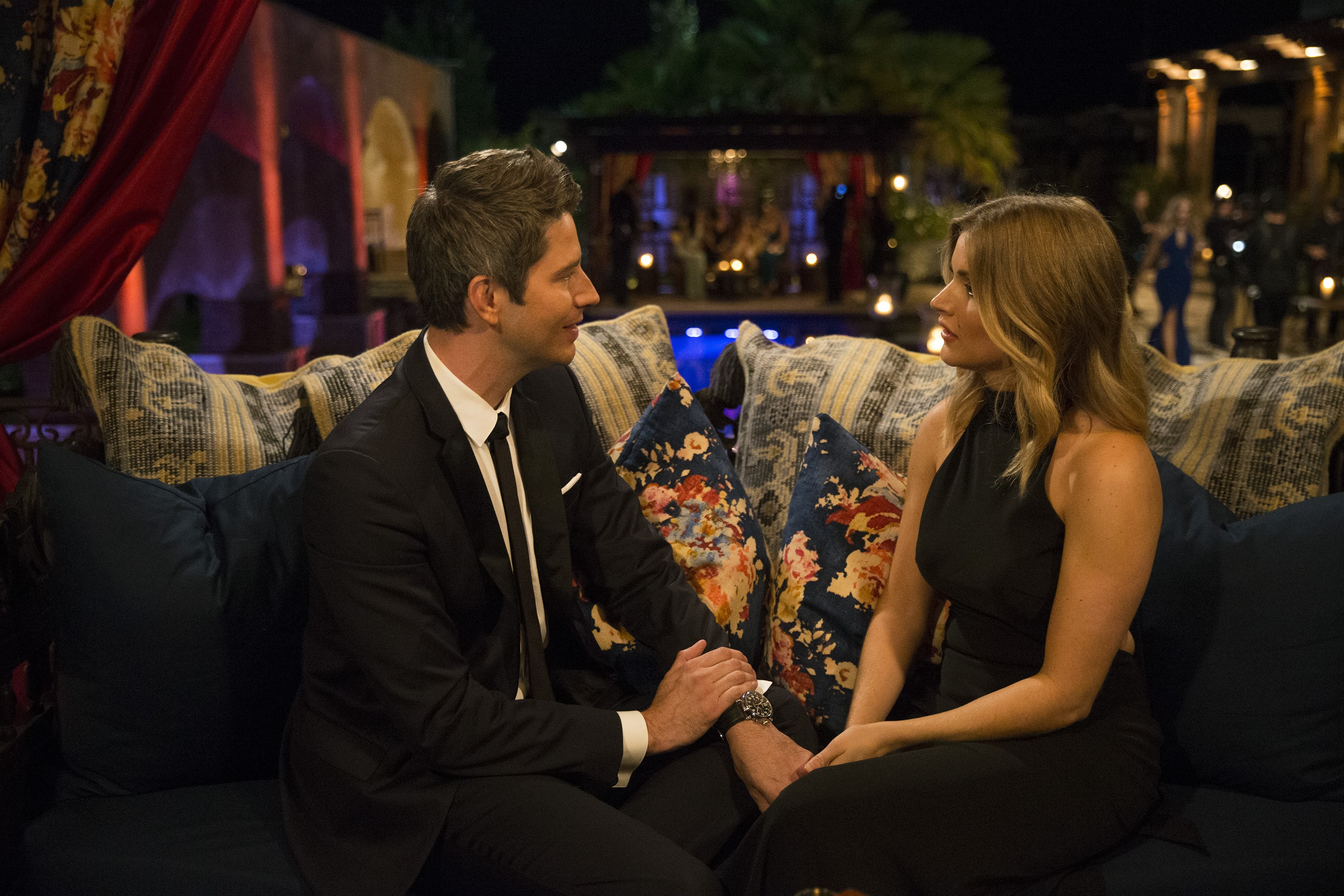 """THE BACHELOR - """"Episode 2201"""" - What do a quirky, cute set decorator who has a thing for taxidermy, death and zombies; a Yale graduate with the business acumen to be a big success, but failing grades in love; a rock-climbing nanny who combines youthful exuberance with classic charm; a lovely Latin lady who can spice things up in the romance department; and a former model who harbors a huge secret all have in common? They all have their sights set on making the Bachelor, Arie Luyendyk Jr., their future husband when the much-anticipated 22nd edition of ABCÕs hit romance reality series ÒThe BachelorÓ premieres, MONDAY, JAN. 1 (8:00-10:01 p.m. EST), on The ABC Television Network. (ABC/Paul Hebert)"""