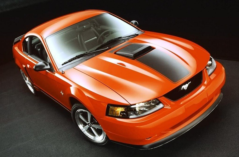 2004 Mustang Mach 1 collector's edition in Competition Orange