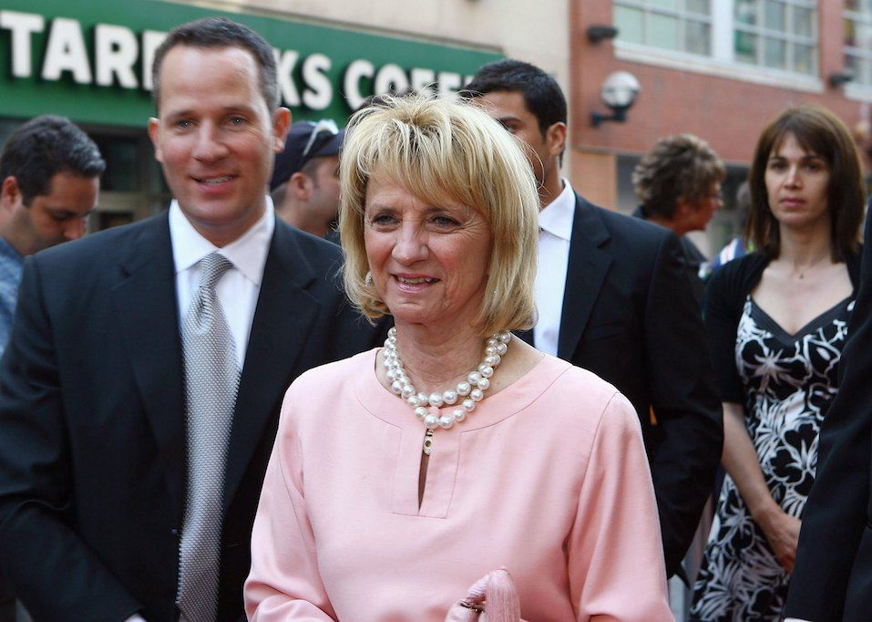 Marian Ilitch of the Detroit Red Wings arrives for the 2008 NHL Awards