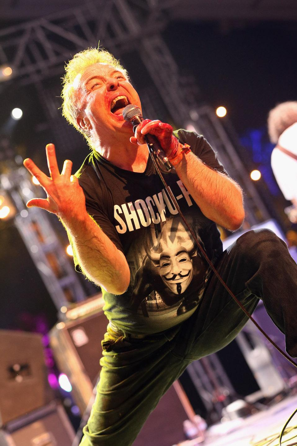 Jello Biafra performs on stage during the 2013 Coachella Valley Music & Arts Festival