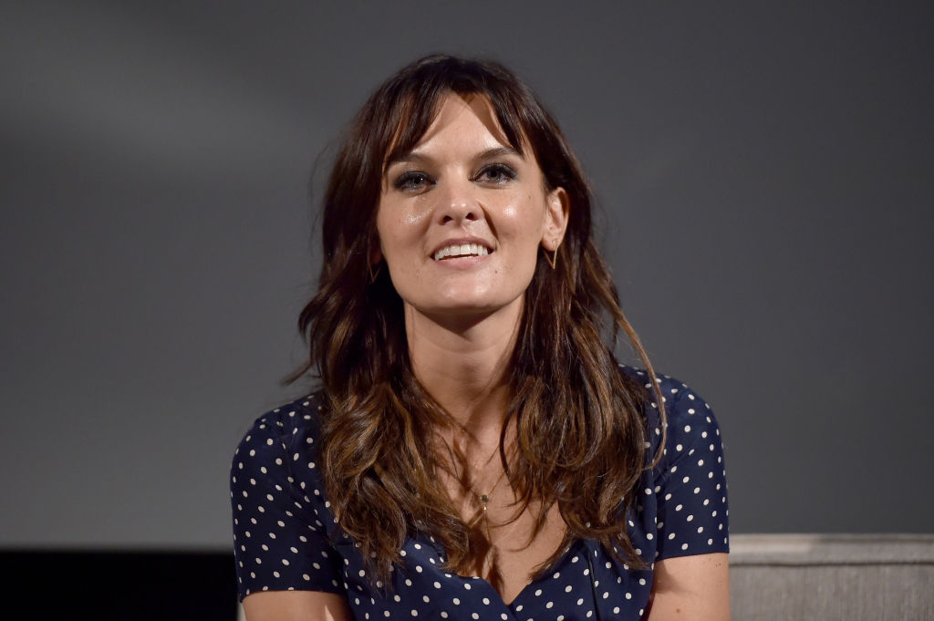 Actor Frankie Shaw of 'SMILF' speaks onstage at the Showtime portion of the 2017 Summer Television Critics Association Press Tour