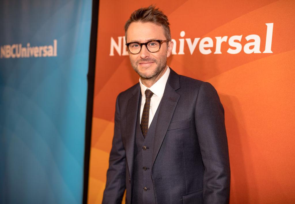 Chris Hardwick attends the 2018 NBCUniversal Winter Press Tour